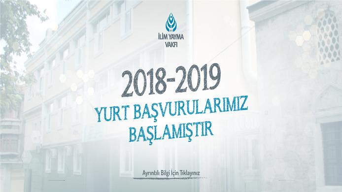 2018-2019 YURT BAŞVURU
