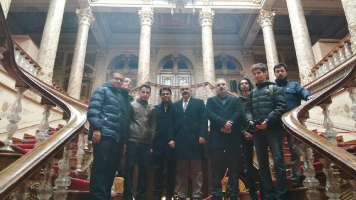 Dolmabahçe Sarayı Gezisi