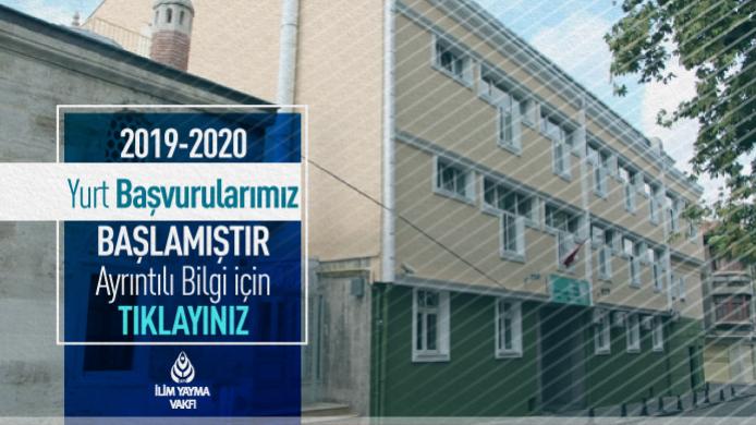 2019-2020 Yurt Başvuru Tarihleri