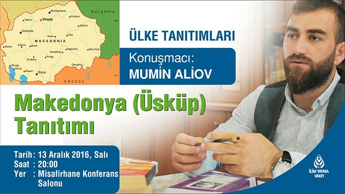 13.12.2016 Mümin Aliov/ Makedonya (Üsküp) - İYV Vefa Lisans Yurdu