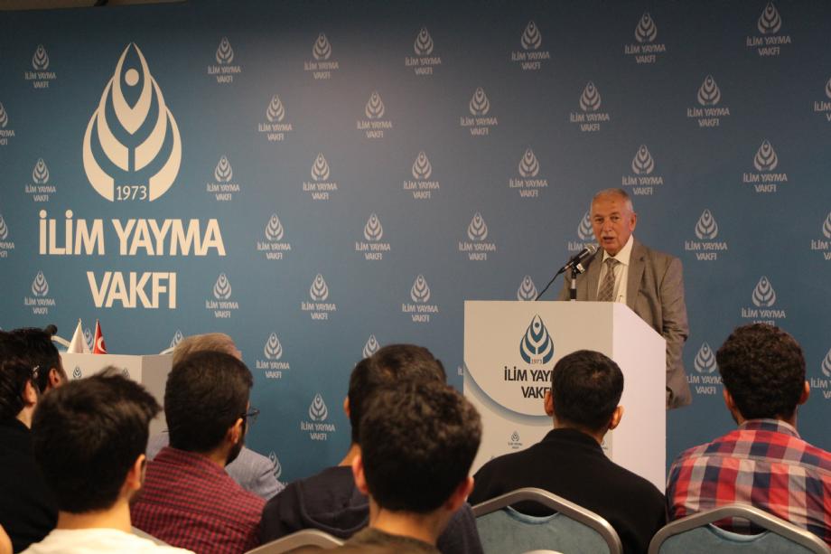 Prof.Dr Talip Alp Konferansı - İYV Vefa Lisans Yurdu