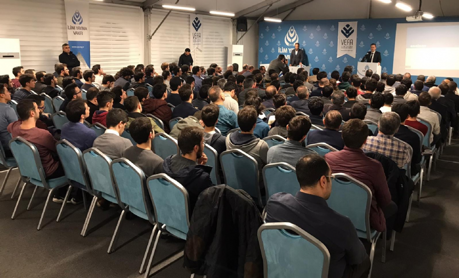 Prof. Dr. Haluk Görgün Konferansı - İYV Vefa Lisans Yurdu